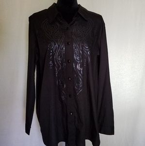 Bob Mackie button down